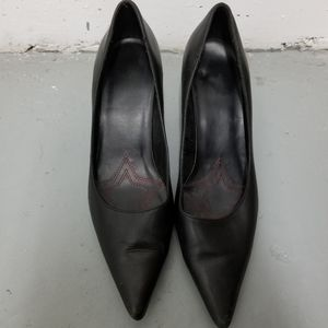 Size 9 Leather Heels